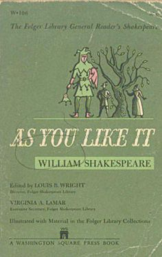 'As You Like It' By William Shakespeare