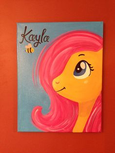 This is on an 11x14 sign canvas. And can be personalized in anyway :)