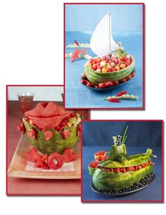 It's Written on the Wall: {Tutorial} You've Got To See This-45 Watermelon Carvings