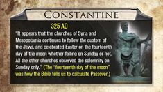 easter is a pagan holiday | Get Rid of Easter! (Pagan origins of Easter and Christmas Exposed ...