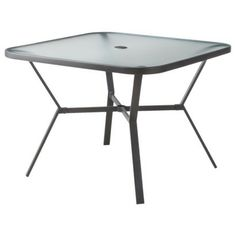Room EssentialsTM Square Patio Dining Table At Target 38 Inches Diameter