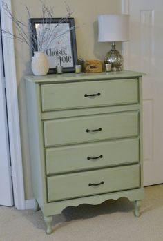 dresser decor use mirror instead - Dresser Decor