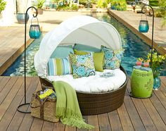 Your new convertible: Have fun in the sun or have it made in the shade with our Sunasan™ Bed.