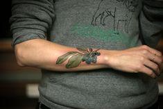 Blueberries #ink #tattoo