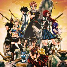 Whole team- Fairy Tail