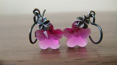A personal favorite from my Etsy shop https://www.etsy.com/ca/listing/237551820/pink-fuchsia-earrings-hot-pink-swarovski