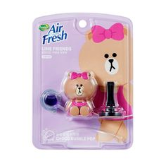 Line Friends Characters Home Car Vent Clip Air Freshener Bubble POP Scent Choco #Homez