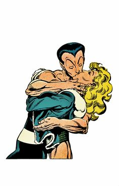 Namor and Invisible Woman by John Byrne