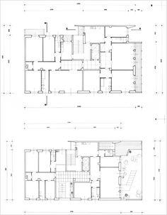 Residential building in via Anelli 9 - Cultured professionalism in the postwar period - itineraries - Ordine degli architetti, P.P.C della provincia di Milano