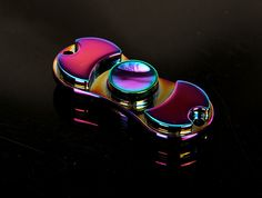 Fidget Spinner Rainbow colour. EDC toys, Fidget Toys, addictive toys, Fidget Chain, Fidget Cube, Time passing toys,Quitting Bad Quitting Bad Habits