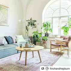 Loving this space - so calm and bright!   #Repost @finchandhepburn with @repostapp  I'm partial to the arched window on Play School so it's a given I'm envious of this space  Light filled and love the added greenery  Pic: @margarethsikkens . . . #interior #interiorinspo #home #homeinspo #homestyling #interiordesign #interiorinspiration #living #livingroom #lounge #livingarea #decor #homedecor #livingspace #sofa #loungechair #indoorplants #design #housedesign #greenery