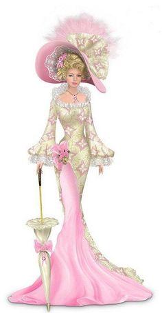 21 new Ideas for fashion ilustration vintage victorian ladies Fashion Art, Trendy Fashion, Vintage Fashion, Fashion Design, Ladies Fashion, Womens Fashion, Fashion Outfits, Illustration Mode, Illustrations