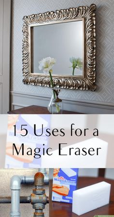Magic eraser, magic eraser hacks, cleaning tips, cleaning hacks, popular pin, magic eraser tips, things to do with a magic eraser, life hacks.