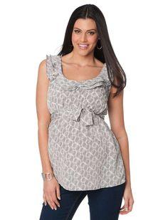 Blusas de moda casual sin mangas para embarazadas   http://blusas.me/blusas-de-moda-casual-sin-mangas-para-embarazadas/
