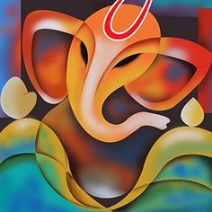 hindu paintings of lord ganesha images - Yahoo Image Search Results Ganesha Drawing, Lord Ganesha Paintings, Ganesha Art, Krishna Painting, Krishna Art, Indian Art Paintings, Canvas Paintings, Canvas Art, Buddha Art