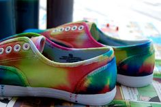 Tie Dye shoes :o)