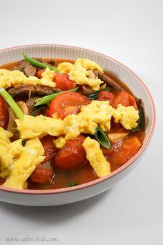 Image result for cantonese tomato egg