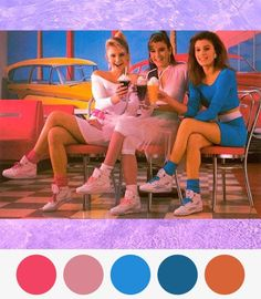 Colors from the 80s