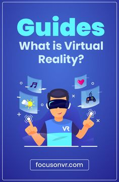 Complete Guides – What is Virtual Reality? Virtual reality technology can be awesome to experience, and holds great promise for the future. Technology Vocabulary, Technology Posters, Technology Wallpaper, Teaching Technology, Technology World, Medical Technology, Computer Technology, Energy Technology, Educational Technology