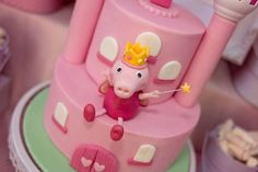 Nara Jade's Birthday / Peppa 'Princess' Pig - Photo Gallery at Catch My Party Pig Birthday, 2nd Birthday Parties, Pig Party, Nara, Peppa Pig, Party Ideas, Cakes, Princess, Desserts