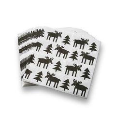 KLIPPAN/ペーパーナプキン ムース 840yen お馴染みのムース柄で食卓を彩る