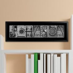 Architectural Elements II B / W Family Name Print :http://spectaculareventsdesigns.com/shop/bridal-shower-gifts/architectural-elements-ii-b-w-family-name-print/