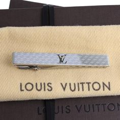 Louis Vuitton Pince Cravate Champs-Elysees  Other Silver Metallic M65042