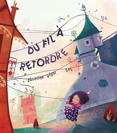 du fil a retordre by grainesDeSeL on DeviantArt Le Divorce, Children's Book Illustration, Book Illustrations, My Images, Childrens Books, Deviantart, Drawings, Cute, Pictures