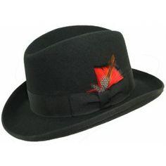 676c0de99b4 Levine Hats(selentino) alpha felt homburg fur center crease  101909 (202.50)