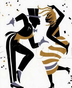 x Fox trot is a dance print All art personally signed by the artist by exclusive arrangement with Ty Wilson Illustration Noel, Illustrations, Illustration Artists, Dancing Drawings, Art Drawings, Wilson Art, Art Africain, Spectrum Noir, Frames For Canvas Paintings