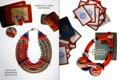 Lizzie Fortunato Jewels - Opulent Memories Necklace, Palace in Pondicherry Necklace & Carnival Kids Earrings