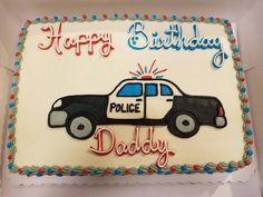Police car cake!!! #police #policecake #policecar #policecarcake #cop #birthdaycake #policebirthday #policebirthdaycake #copbirthdaycake #officer #birthday