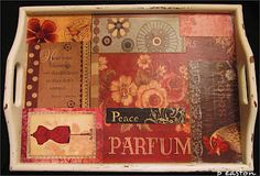 MY BLOG!  Create this Shabby Chic Tray for pennies... Great pic tutorial with supplies and instructions.  Click on link to read, and leave me a hello... many OTHER creative blogs and ideas to read!  ENJOY!