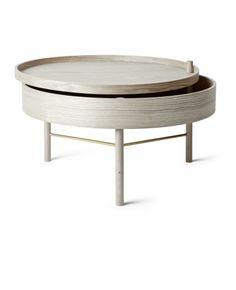 Turning Table, table basse, chêne naturel   NORDKRAFT