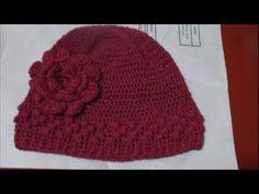 Gorro a Crochet ( Ganchillo ) English Subtitles ( Subtitulado Español) - YouTube