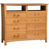 Monterey Solid Cherry 8-Drawer Dresser - An eco-friendly contemporary dresser from the Monterey Collection