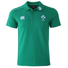 finest selection 6c606 c7135 Canterbury Ireland 14 15 Cotton Training Polo. Rugby ...