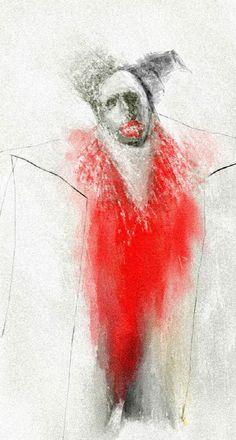 """Kingi""The Performer"" By Ruth Clotworthy Original Paintings, Original Art, Medium Art, Artist At Work, Art Journaling, Mixed Media Art, Online Art, Darkness, Fine Art America"