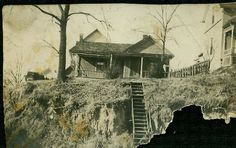 House in Wyandotte KS (Kansas City) where Sarah Allen, Jeremiah Carroll, Willie and Charled F Carroll lived.  House is gone now, a small park there.