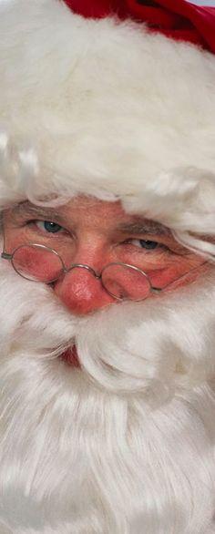 I'm the real Santa!     D.
