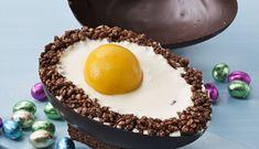 Mona de Pascua en huevo de chocolate con Thermomix®(TM5,TM31) Acai Bowl, Eggs, Pudding, Breakfast, Desserts, Chocolates, Muffin, Sweet, Weddings