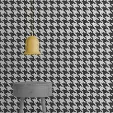 Source Pied De Poule – K Wallpaper by Mineheart Luxury Interior, Luxury Furniture, Eclectic Style, Wallpaper Roll, Living Room Modern, Soft Furnishings, Home Decor Accessories, Wall Lights, Wall Decor