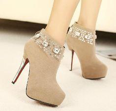 Trust my fashion -High Heels Boots