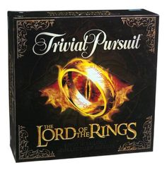 Trivial Pursuit LOTR Edition // www.thedomesticgeekblog.com Gift Guide for your Hobbit by Domestic Geek