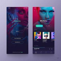 Pin by withloveandheart on mobile design веб-дизайн, дизайн сайта, дизайн. Design Web, Pop Design, Layout Design, App Ui Design, Web Layout, Design Case, Graphic Design, Interface Design, User Interface