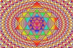 Sri Yantra (Psychedelic Tunnel) Artist: Unknown
