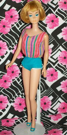 1965 American Girl Barbie  I thought this is MIDGE...am I wrong?