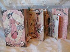A Ladies Diary year book journal / mini album