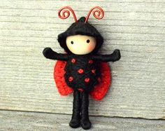 Ladybug With Wings Bendy Doll toy