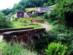 "Aldea de ""As Barreiras"", Santa Eulalia de Oscos, Reserva de la Biosfera Oscos-Eo, Asturias"
